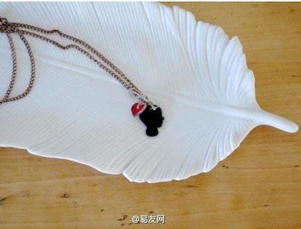 DIY Silhouette Necklace