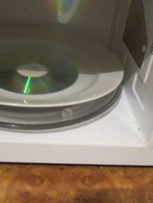 CD in a Microwave