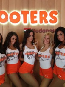 Hooters Girls from Budapest