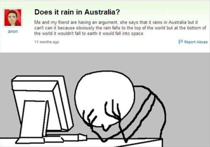 Funny Facepalms Statements