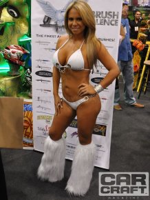 American girls from SEMA show