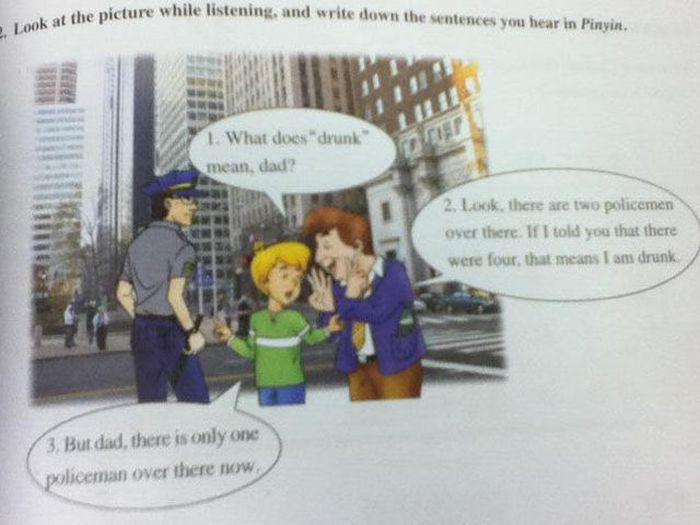 Funny Textbook Fails