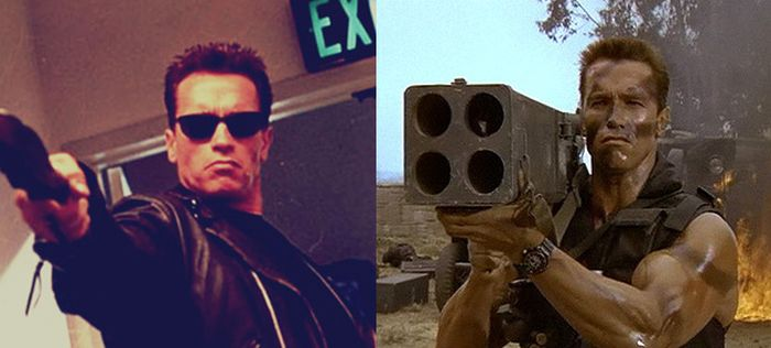 Arnold Schwarzenegger Looks Exactly The Same In Every Photo