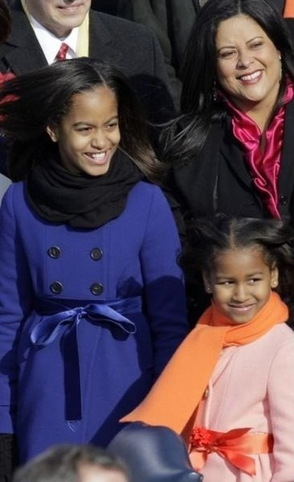 Sasha and Malia Obama, 2009 vs 2013, part 2013