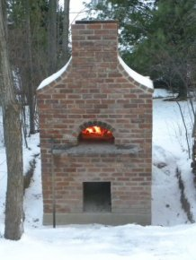 DIY Outside Pizza Oven