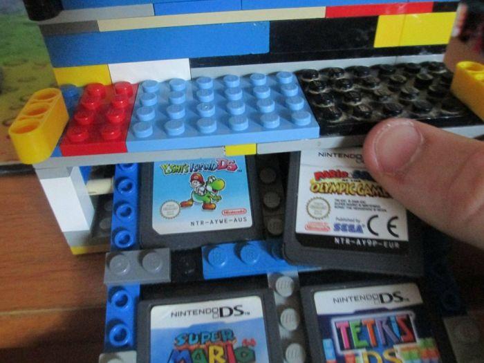 Lego Nintendo DS case