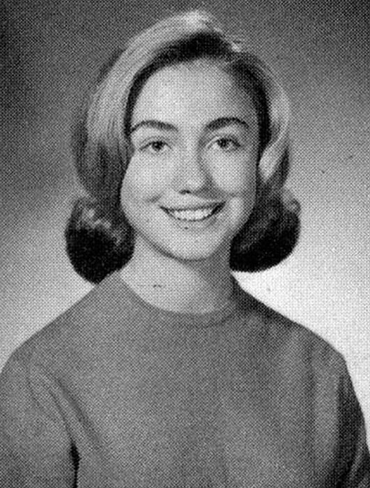 High-School Yearbook Photos of Famous People