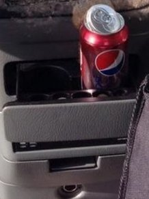Can of Soda Inside a Frozen Car