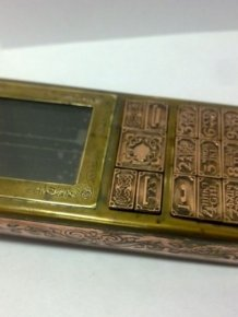 Brass and Copper Phone