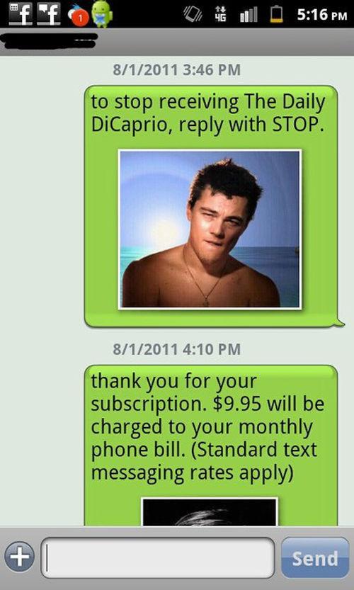 Very Funny DiCaprio Phone Prank
