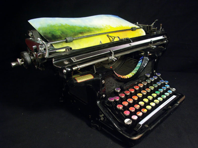 Color printing machine by Tyree Callahan