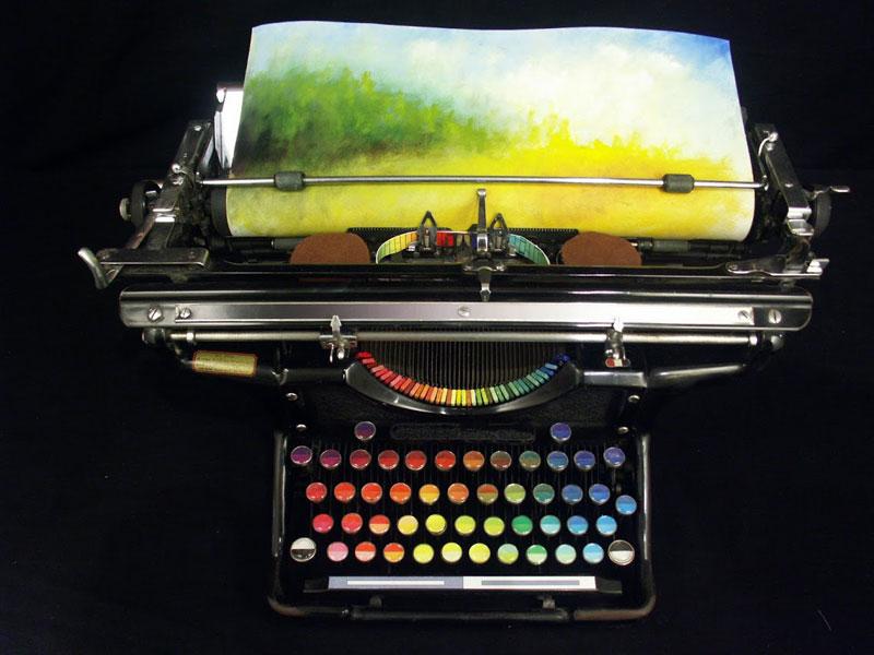 Color printing machine by Tyree Callahan