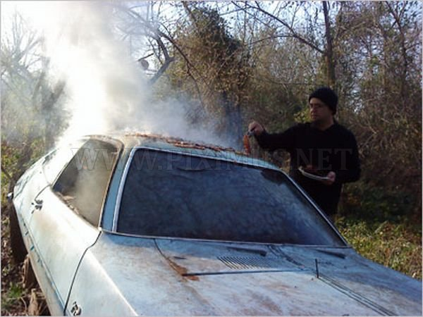 How to Cook Bacon on a Ford Pinto