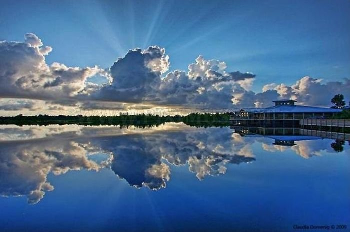 Beautiful Reflections in Water