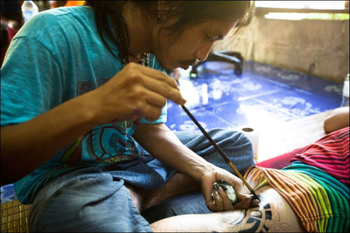 How Bamboo Tattoos Are Made