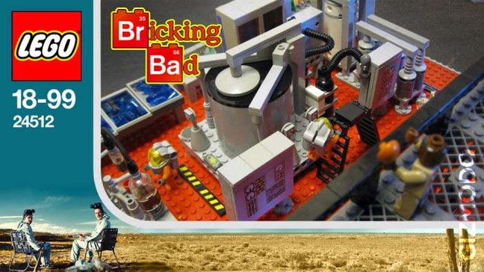 'Breaking Bad' in Lego