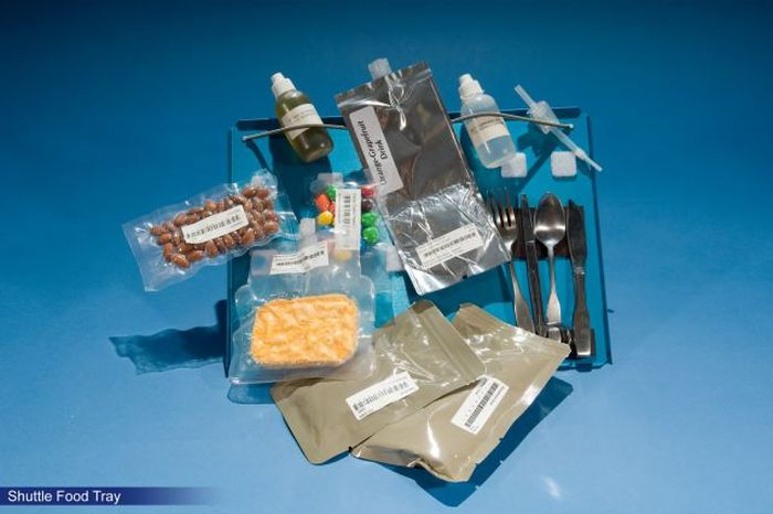 Space Food from the Last 50 Years
