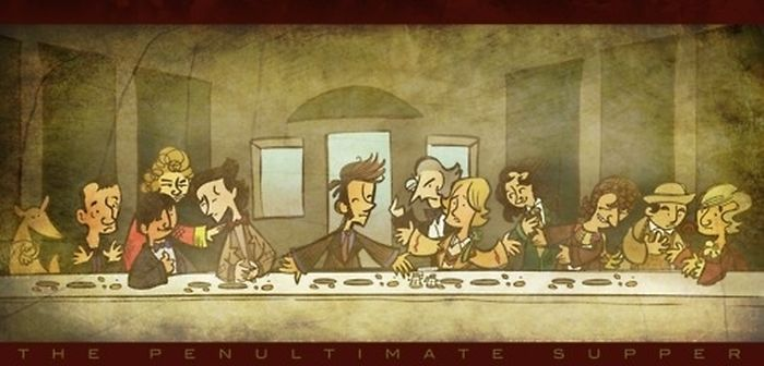 "Pop Culture Parodies Of ""The Last Supper"""