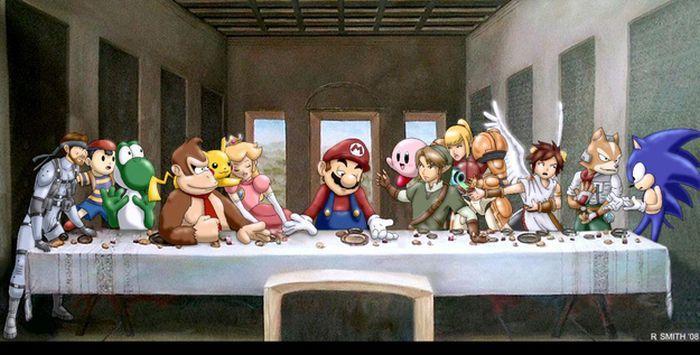 "Pop Culture Parodies Of ""The Last Supper"""