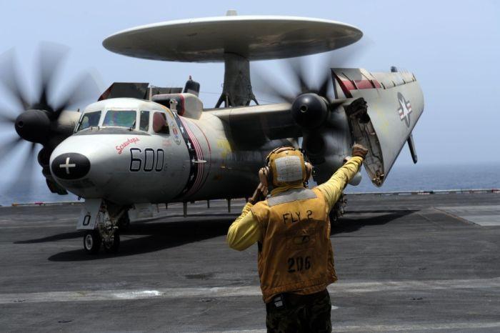 Photos of E-2C Hawkeye