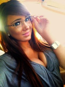 Hot babes with glasses