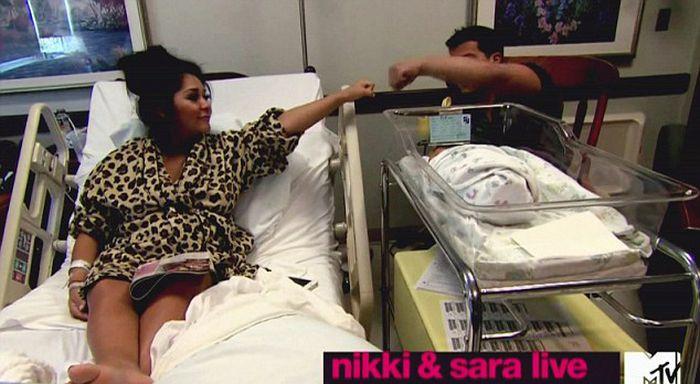 Snooki Gave Birth on Camera