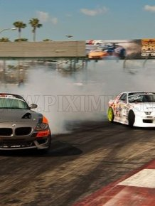 Formula Drift Streets of Long Beach
