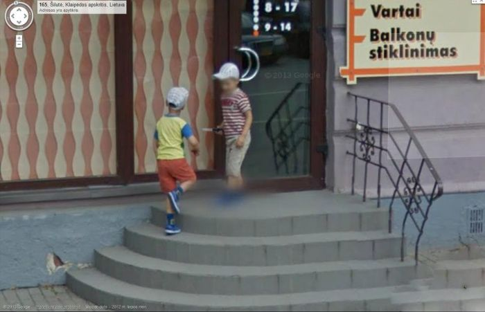 Google Street View Lithuania