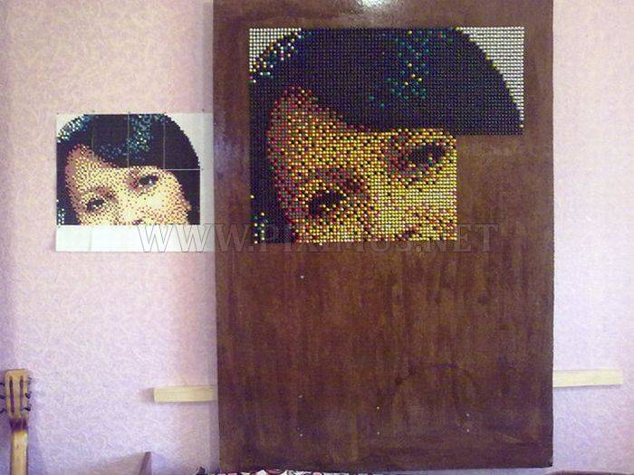 How to Create a Push Pin Portrait