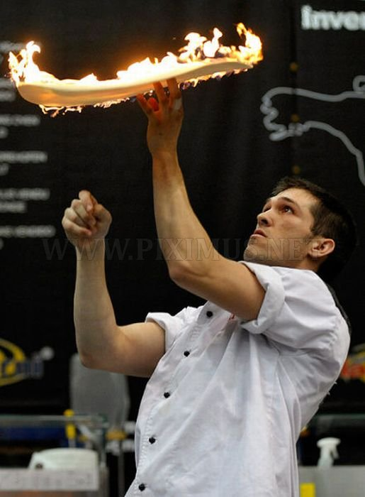 The Making of Extreme Pizza at the Pizza World Cup