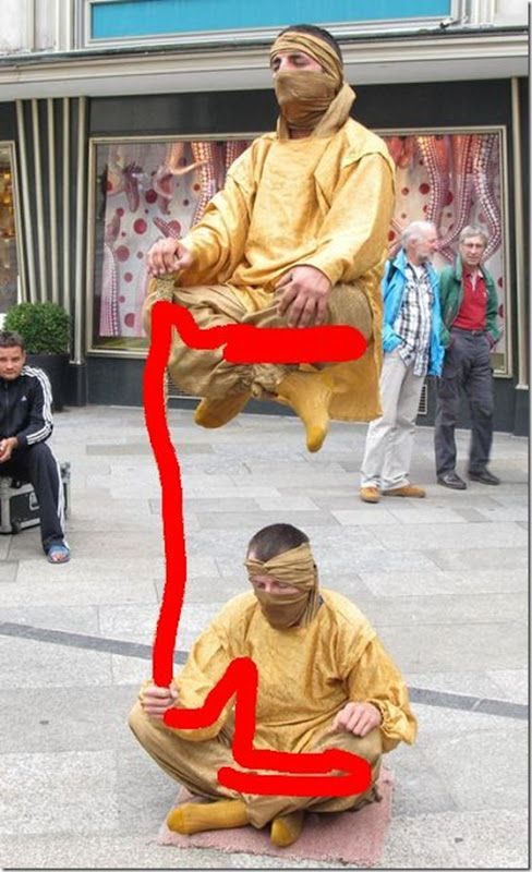 Levitating People