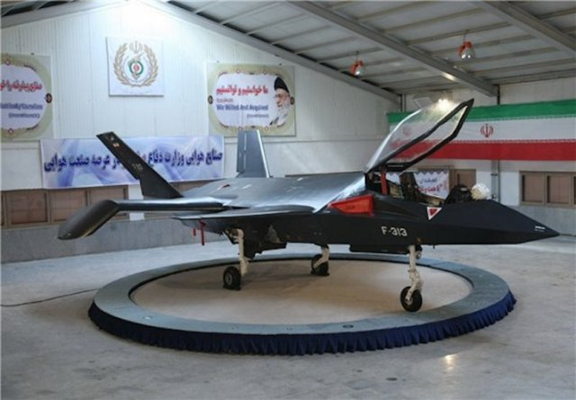"Qaher-313 ""The Conqueror"" - a combat aircraft from Iran"