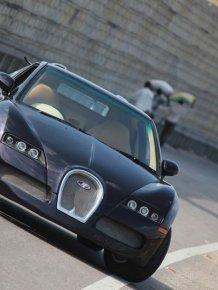 Bugatti Veyron from India