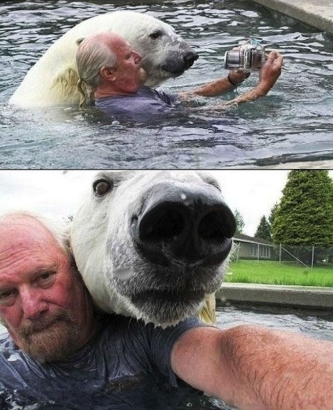 WTF Pictures Of People Posing With Animals
