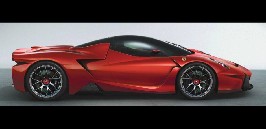 Ferrari F70 Concept Vehicles