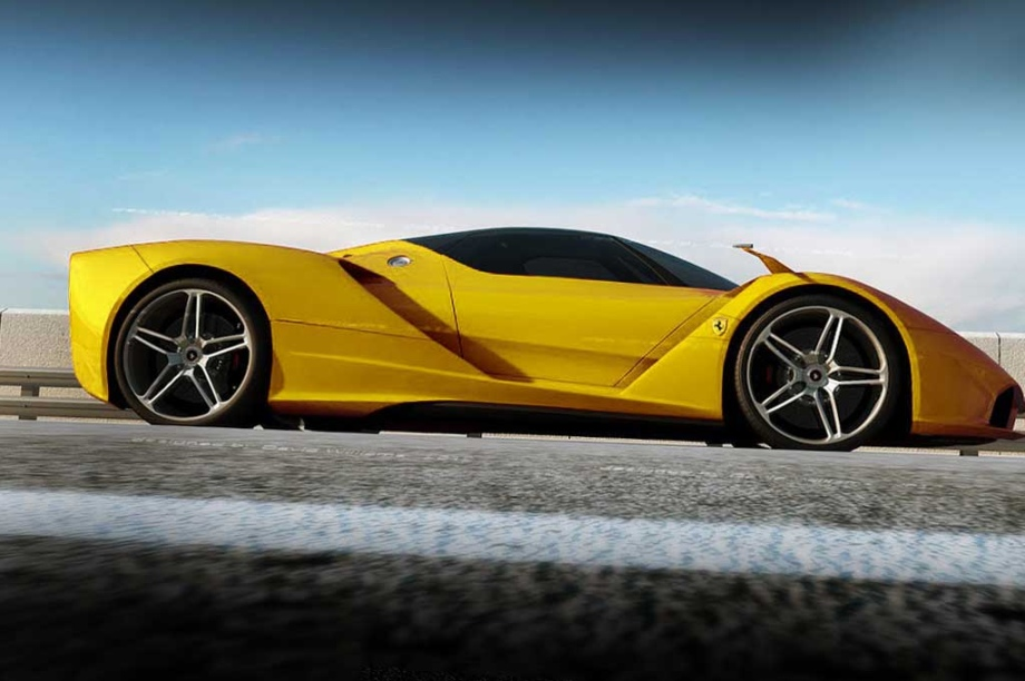 ferrari  concept vehicles The Best Of Friends By