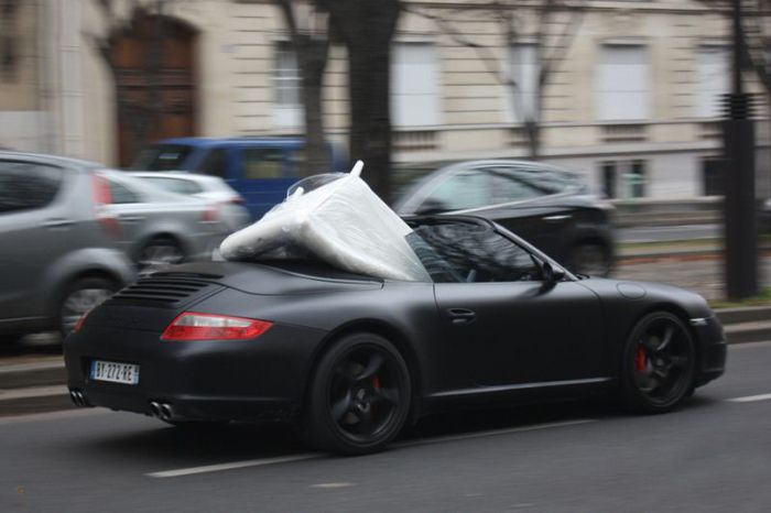 Another Use of Porsche 997 Carrera S Convertible