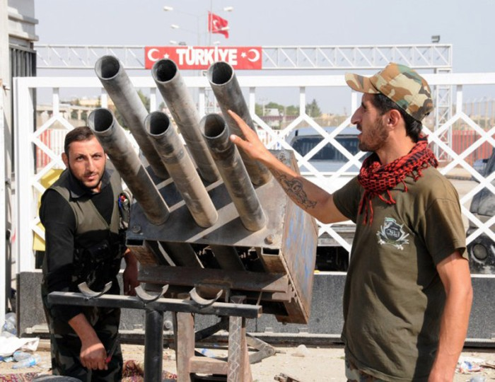 Self-Made Weapons of Rebel Groups