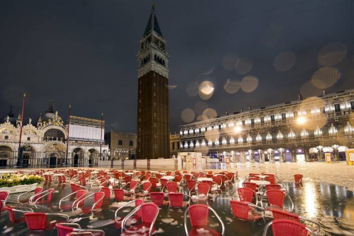 Freezing Venice