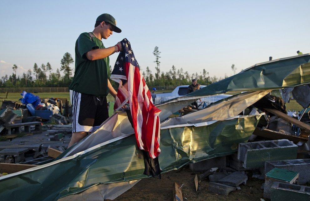 Devastating North Carolina Tornado