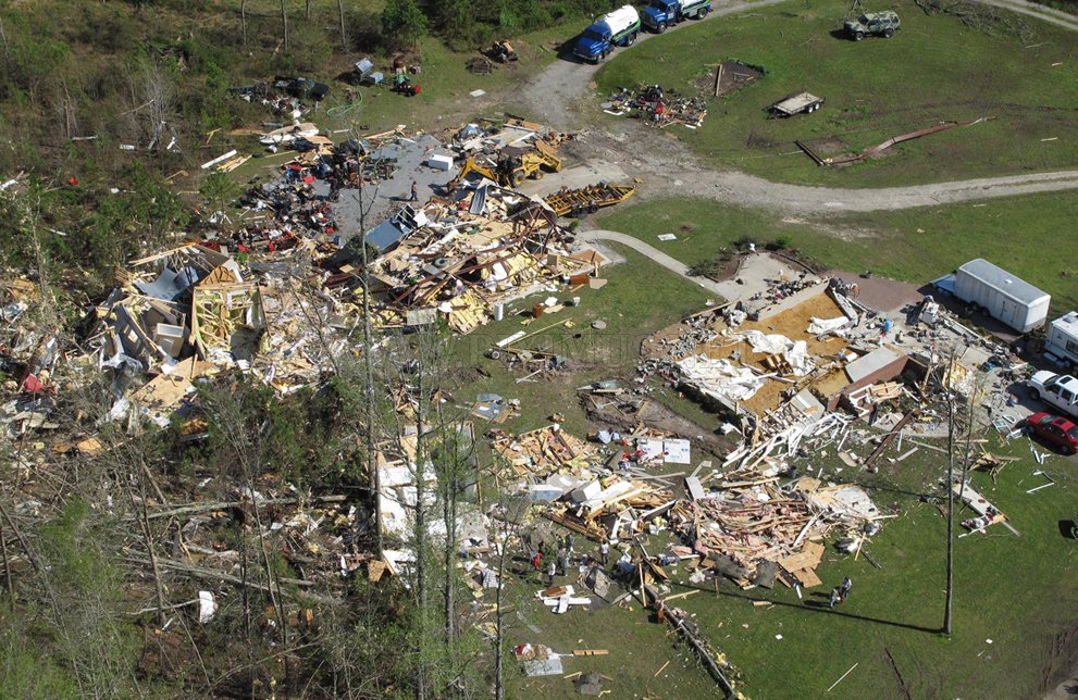 Devastating North Carolina Tornado