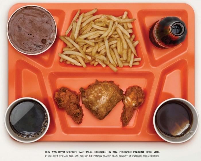 Last Meals Of Executed Innocent Men