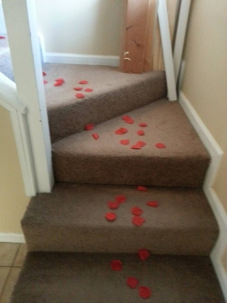 Trolling a Roommate on Valentine's Day