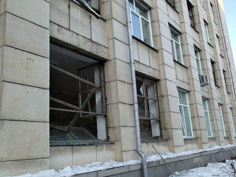 Meteor explosion in Chelyabinsk, Russia
