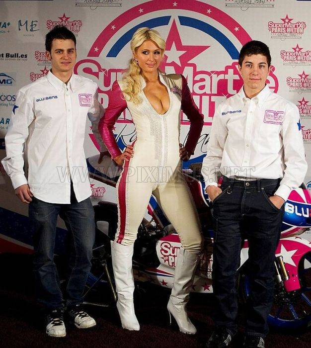 Paris Hilton MotoGP Racing Team