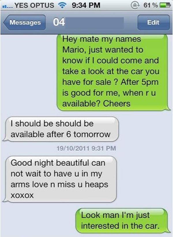 Wrong Number Texts, part 2