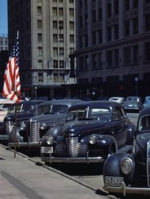 American cars in the 40-60's