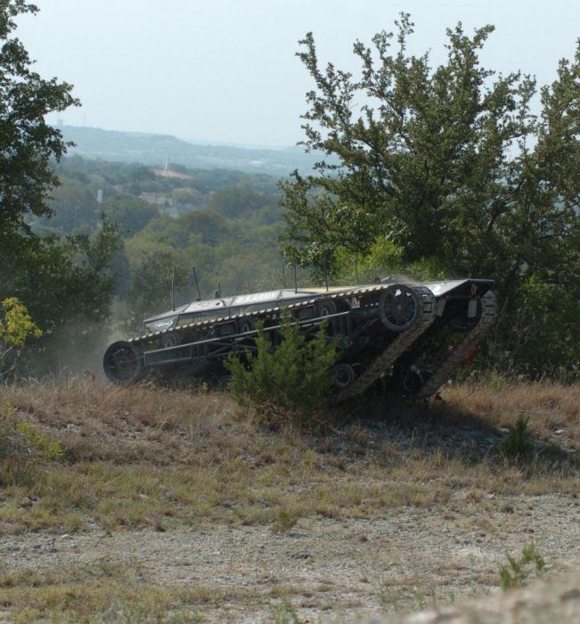 World's Fastest Tracked Vehicle