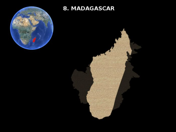 Earth's Largest Islands