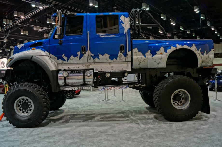 IRONREVENGE - the world's largest street legal 4×4, part ...